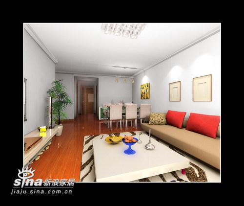 简约 二居 客厅图片来自用户2737735823在简约大方两居室23的分享