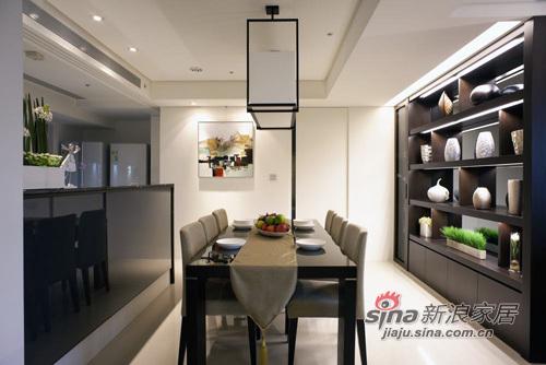 简约 三居 餐厅图片来自用户2738093703在6万质感时尚大3居43的分享