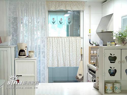 简约 二居 厨房 田园 小清新图片来自用户2739153147在梦幻小公主的家27的分享