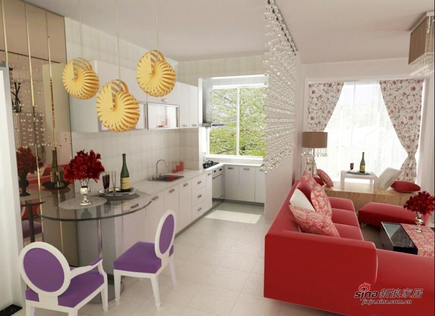 现代 二居 餐厅图片来自用户2765170907在清新现代风51的分享