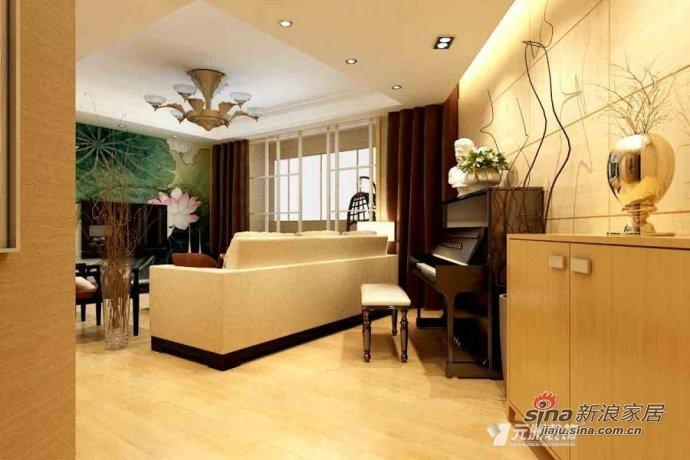 简约 二居 客厅图片来自用户2738820801在4万巧装60平可实用空间68的分享