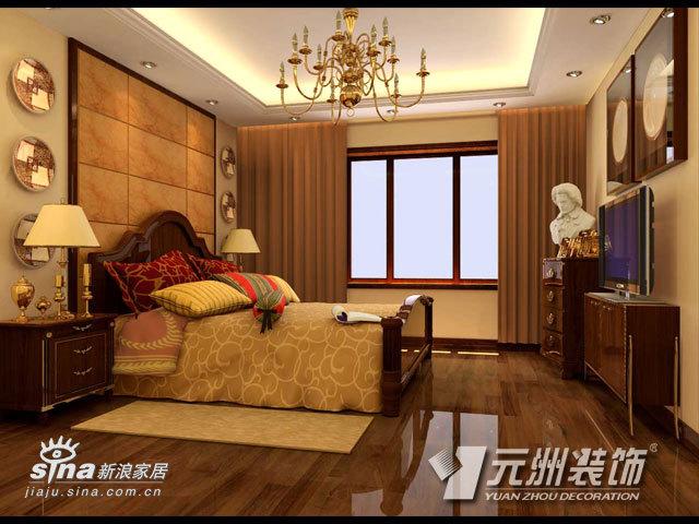 欧式 别墅 卧室图片来自用户2746953981在昌平果园别墅11的分享