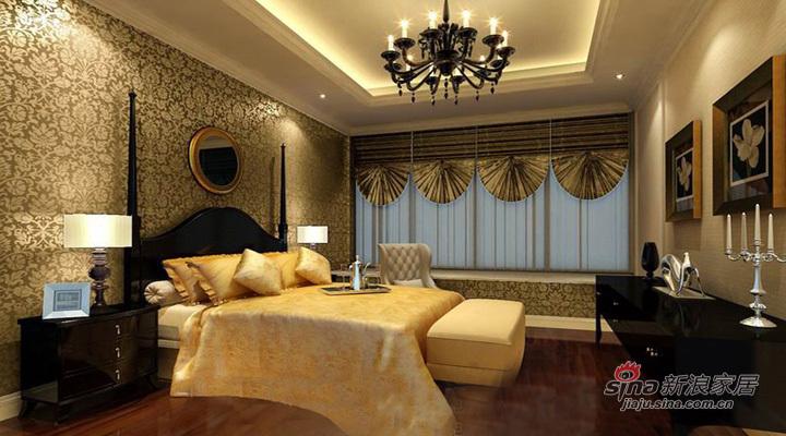 欧式 复式 卧室图片来自用户2746889121在华丽简欧复式【丽水丁香园 182平】69的分享
