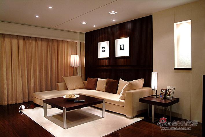 简约 三居 客厅图片来自用户2745807237在123平现代中式恬静雅致两居88的分享