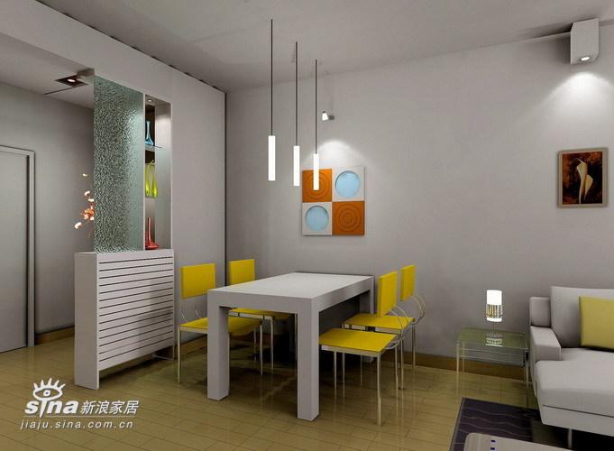 简约 三居 餐厅图片来自用户2737759857在简单中体现个性23的分享