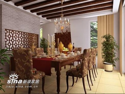 欧式 别墅 餐厅图片来自用户2772856065在宁静的古典美48的分享