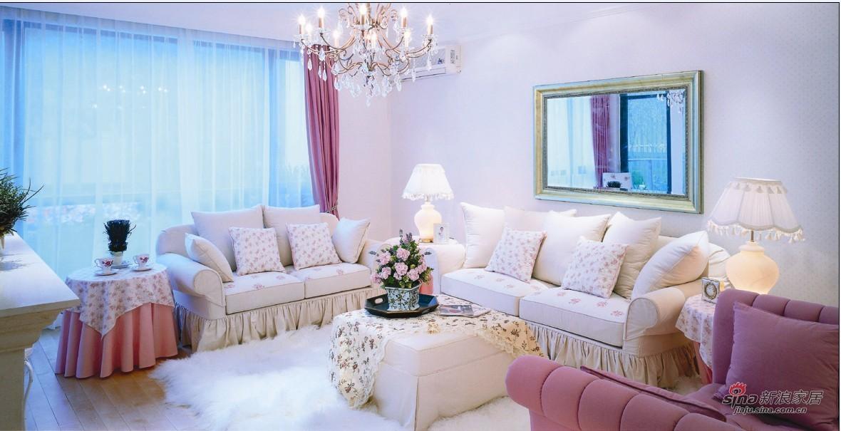 田园 二居 客厅图片来自用户2557006183在12万精心营造甜美田园风83的分享