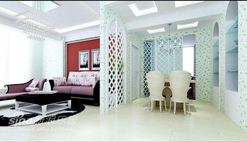 田园 二居 客厅图片来自用户2557006183在4万7打造100平米金汉绿港田园风格14的分享