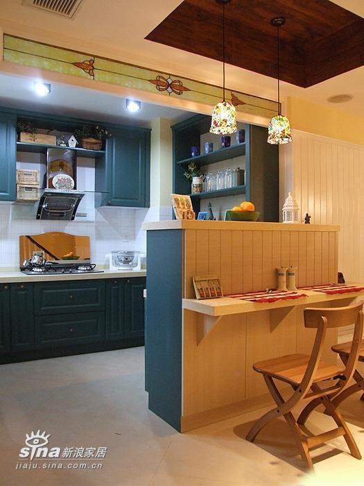其他 跃层 厨房图片来自用户2737948467在简洁又大方田园风格31的分享
