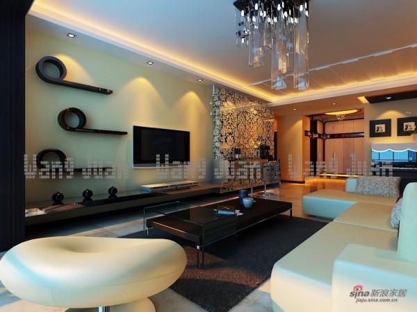 简约 二居 客厅图片来自用户2738829145在118平米典雅两口之家17的分享