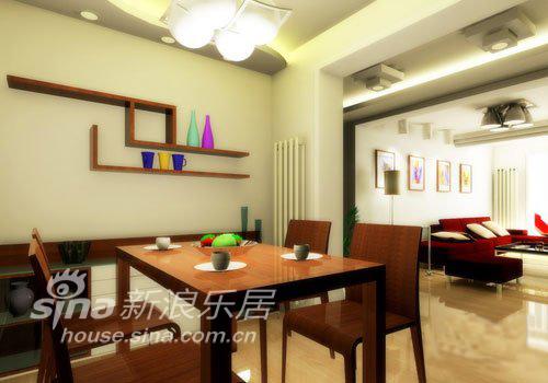 简约 复式 餐厅图片来自用户2745807237在极简复式设计 秀出迷人色彩62的分享