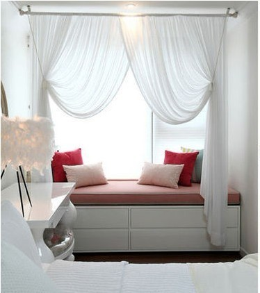卧室和飘窗