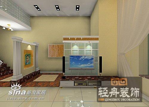 欧式 别墅 客厅图片来自用户2746889121在金色晓岛联排别墅90的分享