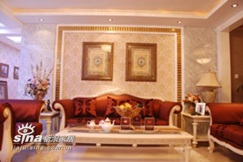 欧式 三居 客厅图片来自用户2746889121在欧式风格样板房(244平米)76的分享