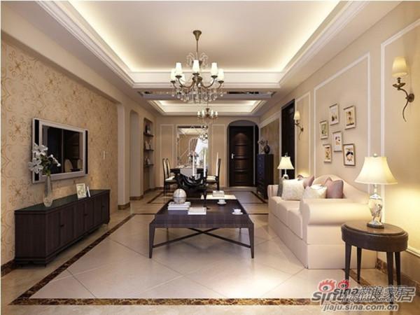 高雅尊贵的客厅设计