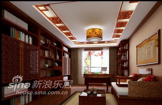 中式 四居 书房图片来自用户2748509701在天通苑西三区74的分享
