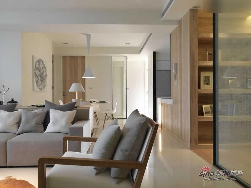 简约 三居 客厅图片来自用户2557979841在140平怡然清新淡雅格调自然家28的分享