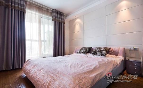 简约 三居 卧室图片来自用户2557979841在5万装修87平方典雅素色简约三居室40的分享
