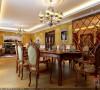五矿龙湾国际社区197平复式楼东南亚装修
