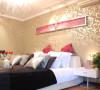 风尚装饰样板间 卧室