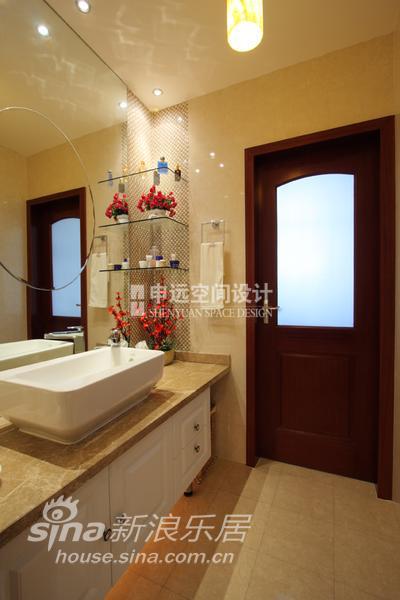 简约 二居 卫生间图片来自用户2737782783在古龙尚居99的分享