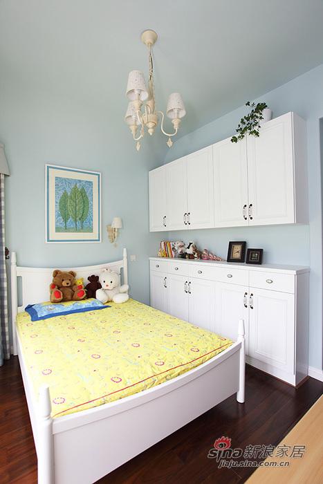 现代 三居 卧室图片来自用户2771251863在11万装90平冬日清新爱巢54的分享