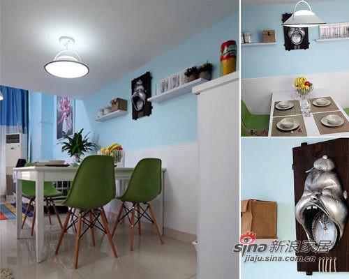 地中海 一居 餐厅图片来自用户2756243717在41平撞色超小户搭建80平清爽家效果31的分享