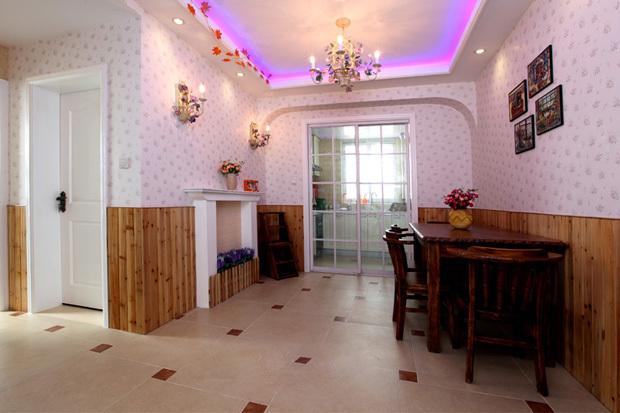 田园 二居 餐厅图片来自用户2737946093在5.5万98平简约田园美居46的分享