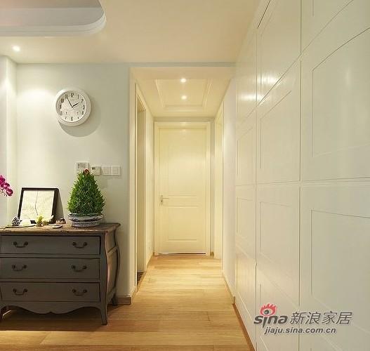美式 四居 玄关图片来自用户1907686233在硬装12W装美式简约150平豪宅33的分享
