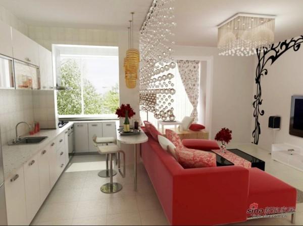 现代 二居 厨房图片来自用户2765170907在清新现代风51的分享