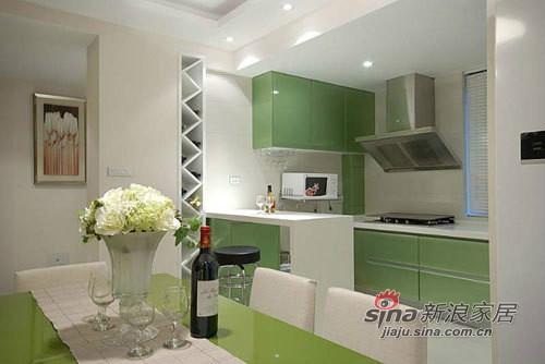 简约 三居 厨房图片来自用户2737735823在小夫妻9万打造130平的现代简约家20的分享