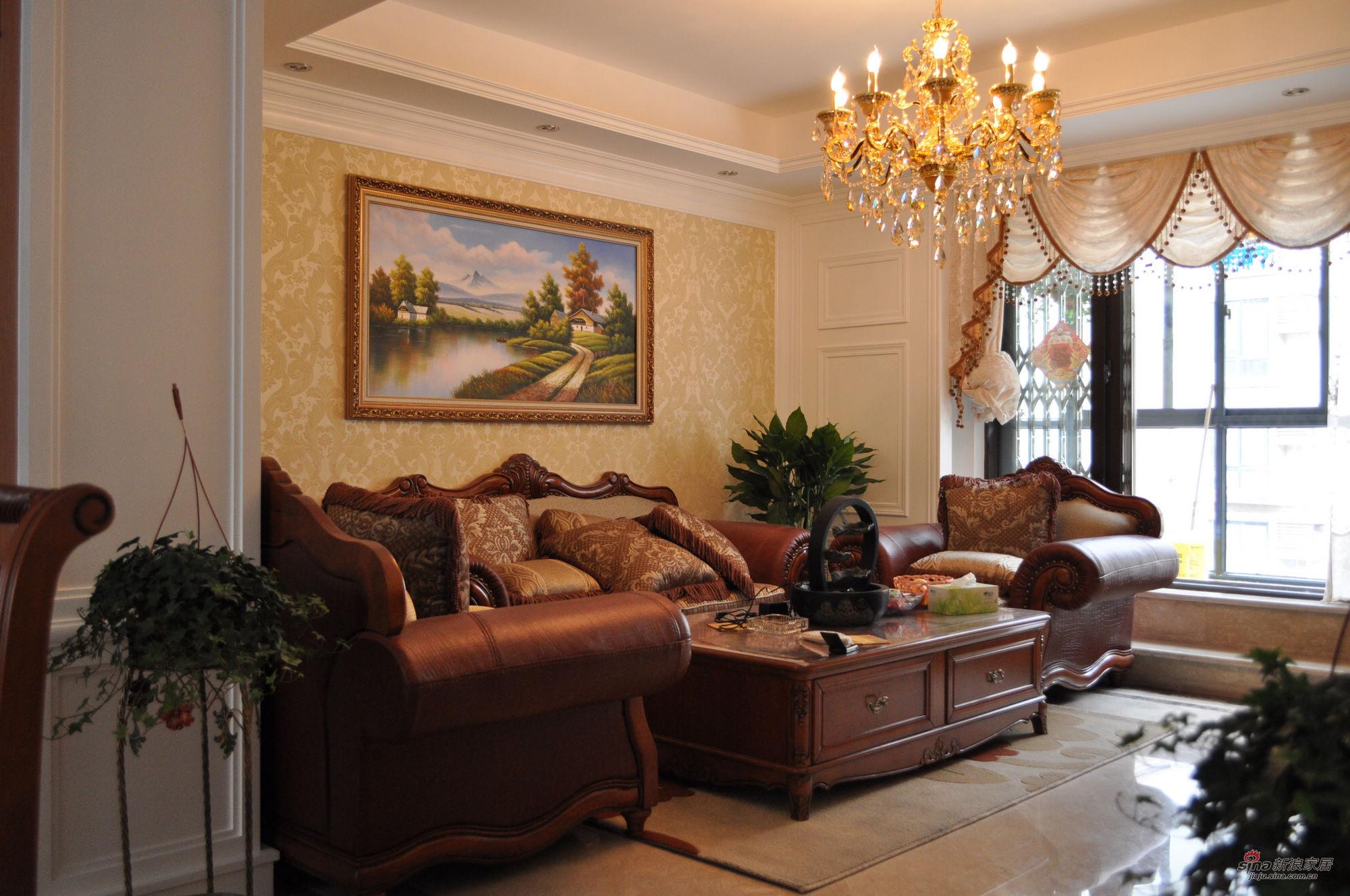 混搭 四居 客厅图片来自用户1907655435在15万打造160平米奢华的家63的分享