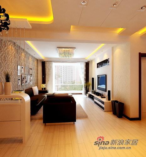 简约 三居 卧室图片来自用户2737759857在5.9w装清新自然家 晒109平简约3居13的分享