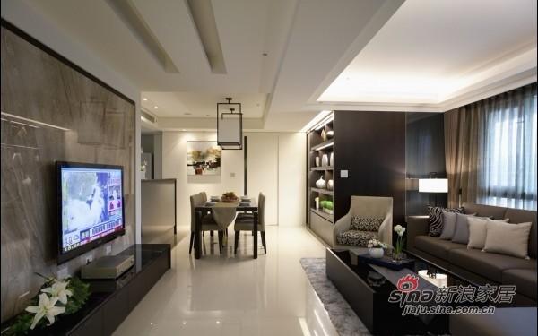 简约 一居 客厅图片来自用户2557979841在8万打造120平简约时尚3居98的分享