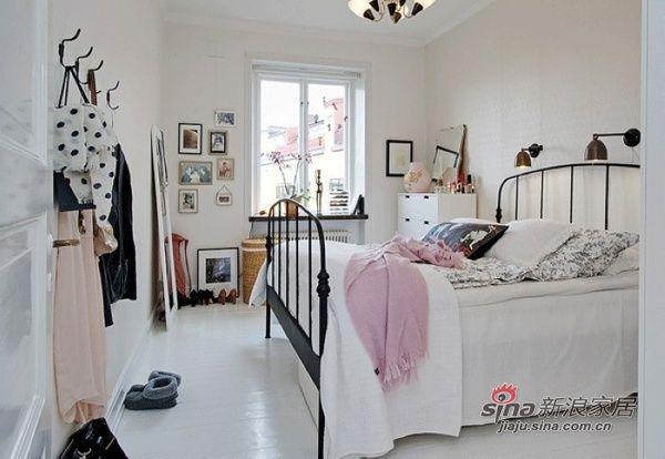 欧式 卧室 糖果色 舒适 温馨 白富美图片来自用户2772840321在22款舒适卧室装修 宅家族的窝心体验的分享