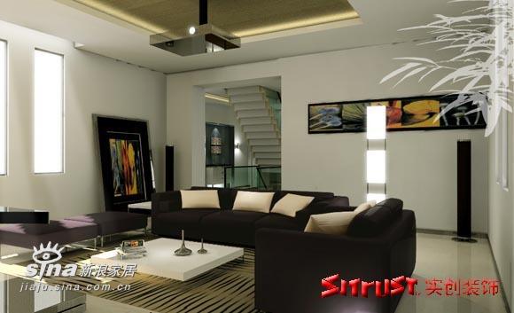 简约 别墅 客厅图片来自用户2745807237在混血家庭的时尚浪漫风情84的分享