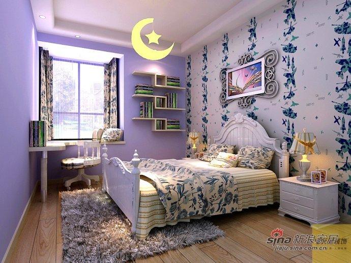 简约 三居 卧室图片来自用户2745807237在8万装122平现代简约雅居30的分享