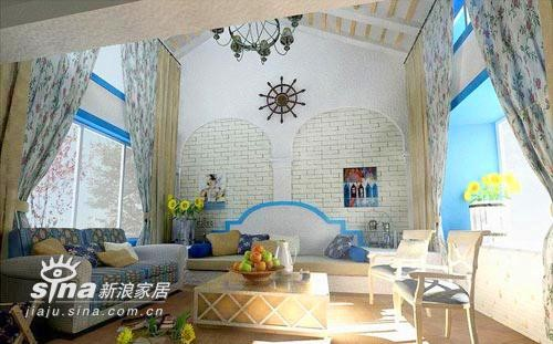 欧式 别墅 客厅图片来自用户2746953981在希腊风格的别墅设计18的分享