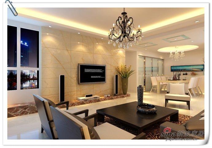 简约 二居 客厅图片来自用户2556216825在3口简约风格家 128平2居宽阔型32的分享
