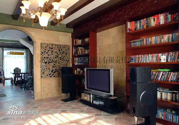 欧式 别墅 客厅图片来自用户2746953981在棉花城38的分享