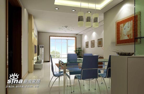 简约 一居 餐厅图片来自用户2737759857在三室两厅52的分享