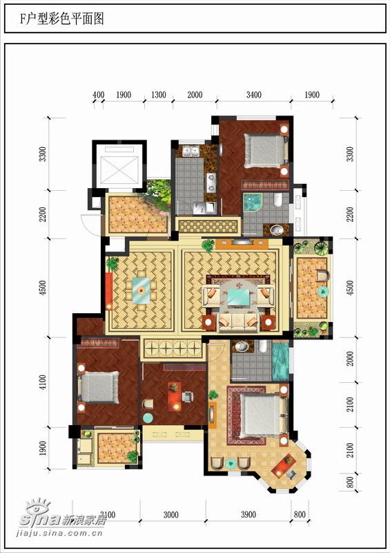 简约 复式 户型图图片来自用户2738845145在精装200平米公寓68的分享