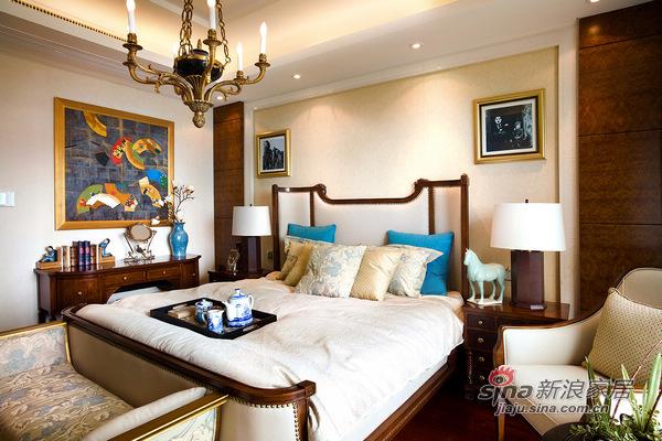 欧式 三居 卧室图片来自用户2772856065在153方欧式风演绎绝美经典3居室69的分享