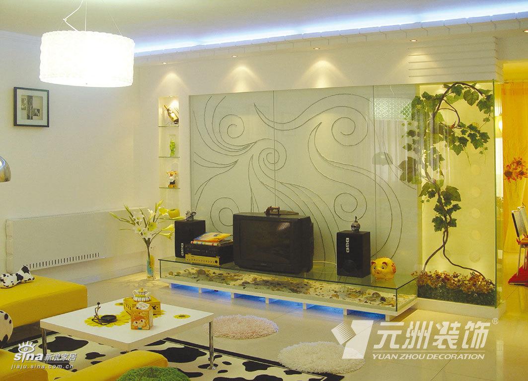 简约 三居 客厅图片来自用户2558728947在白色简约84的分享