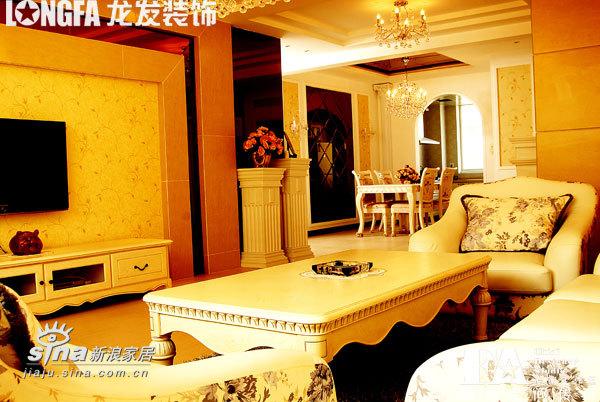 欧式 二居 客厅图片来自用户2757317061在简约欧式之二室两厅样板间43的分享
