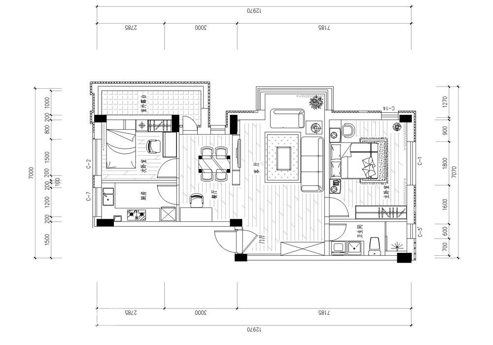 简约 二居 客厅图片来自用户2737735823在简约不简单46的分享