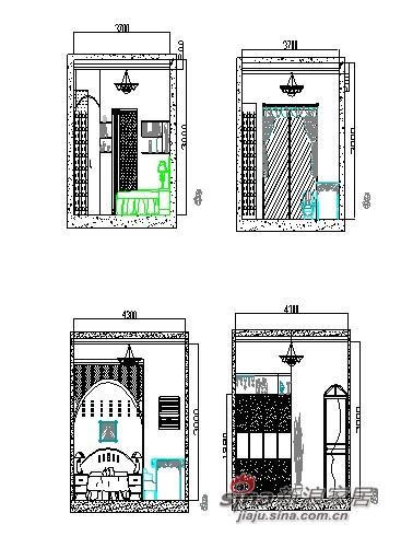 地中海 二居 卧室图片来自用户2757320995在家居设计62的分享