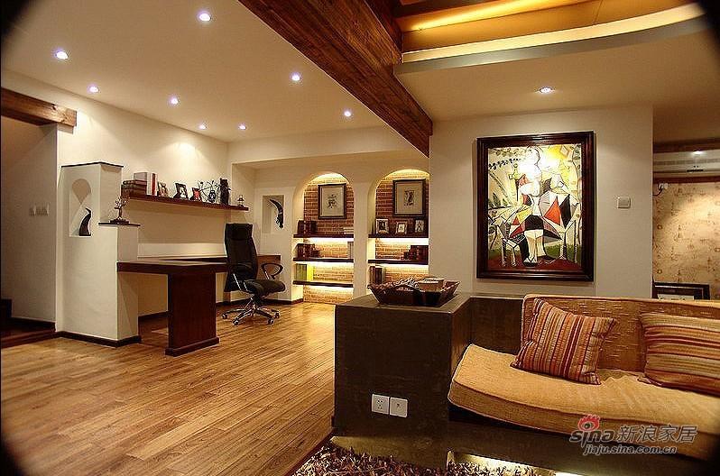 美式 跃层 客厅图片来自用户1907685403在35万装美式乡村290平跃层62的分享