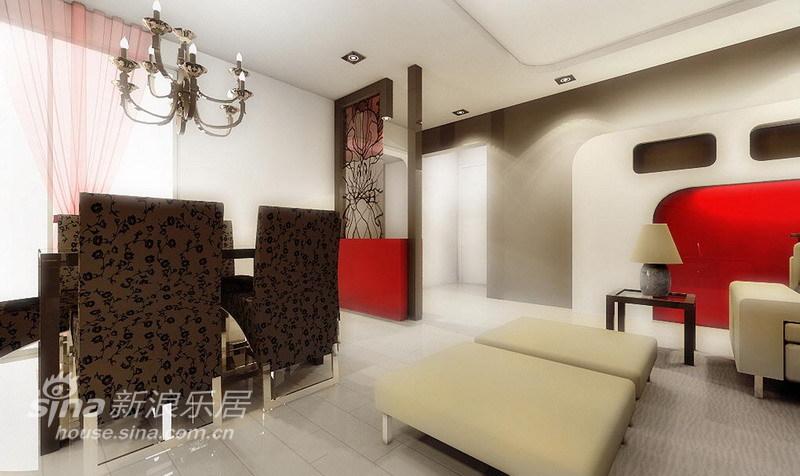 简约 三居 餐厅图片来自用户2737786973在仅花10万装修国风北京现代简约二手房74的分享