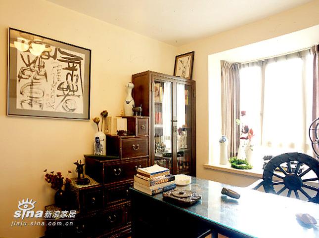 中式 一居 书房图片来自用户2748509701在营造现代中国风之家72的分享